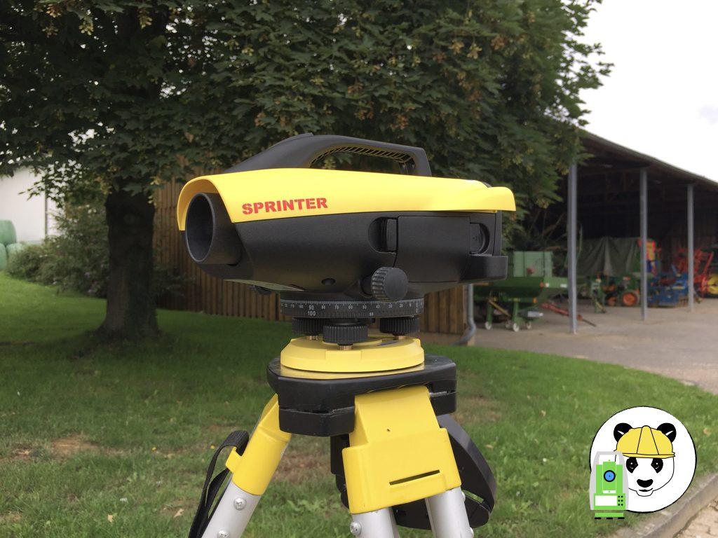 Digitalnivellier Leica Sprinter 150M
