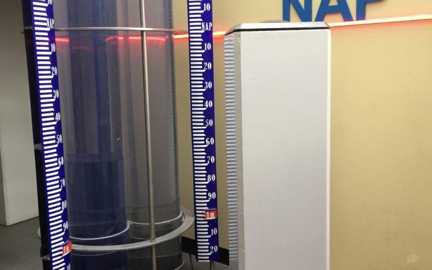 Normalhöhennull (NHN) bzw. auf niederländisch NAP, Amsterdamer Pegel